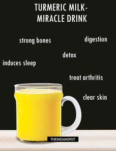 Benefits of Turmeric Milk- A miracle health drink | THEINDIANSPOT