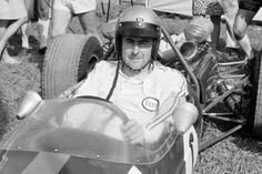 Jack Brabham at Warwick Farm in 1967.