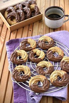 Mandelringe - weihnachtsgebäck - Home flw Easy Strawberry Desserts, Cool Whip Desserts, Easy No Bake Desserts, Desserts For A Crowd, Fancy Desserts, Oreo Desserts, Potluck Desserts, Summer Dessert Recipes, Dessert Cake Recipes