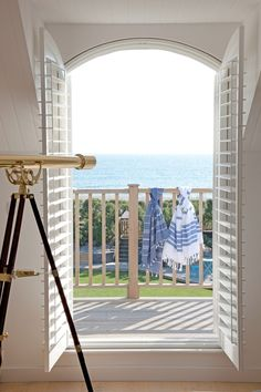 Look out at the ocean from your bedroom   The Heartbook ᘡղbᘠ