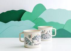 Alpine Enamel Mug