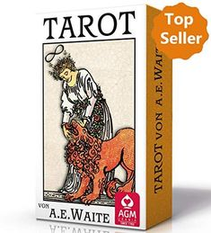 Premium Tarot von A. Waite - Standard (Tarotkarten im Standardformat 7 x 12 cm) Tarot Decks, Ff, Books, Shop, Design, Deutsch, Random Stuff, Remember This, Livros