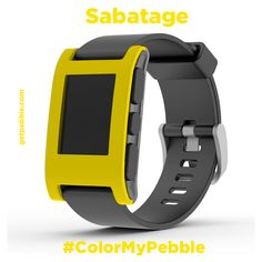 """""""@jeffsabatage: I'd love a bright yellow with a black band (you can call it """"Sabatage"""")."""