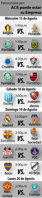 Fútbol recomendado para esta semana: 15 al 20 de Agosto  http://blogueabanana.com/deportes/91-futbol/706-futbol-recomendado-15-al-20-de-agosto.html