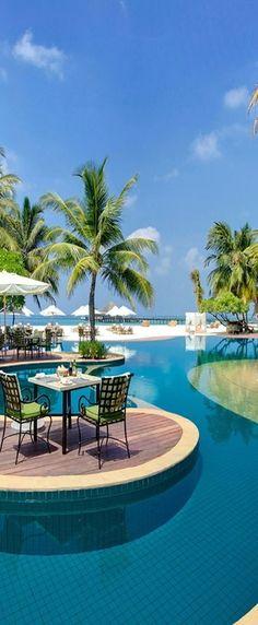 Kanuhara Resort, Maldives #travelnewhorizons