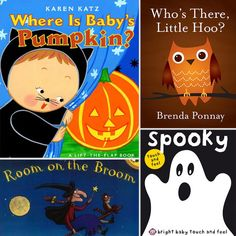 20 Not-So-Spooky Halloween Books for Tots from @lilsugar