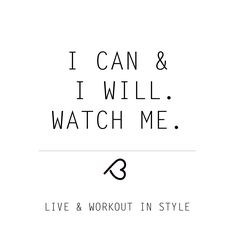 Yes you can! BodyLOVEathletica