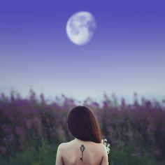 Photograph Mila Moon by Sergey Kotelnikov