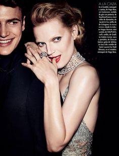 Black & White: Guinevere Van Seenus for Vogue Mexico October 2014 by Alexi Lubomirski