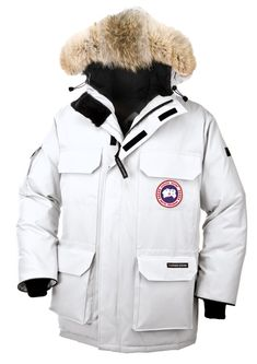2014 New Stlye Canada Goose Expedition Parka Men White online sale