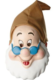 Adult Doc Mask Fancy Dress Panto Snow White and the Seven Dwarfs 7 Dwarves Disney Fancy Dress, Adult Fancy Dress, Halloween News, Halloween Face Mask, Disney Cartoon Characters, Disney Cartoons, Walt Disney, Disney Theme, Masquerade Fancy Dress