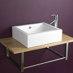 Special Price Natal 50cm by 45cm Rectangular Basin Tap and Waste Set
