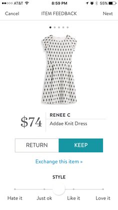 Renee C Addae Knit Dress