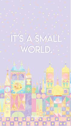 Une jolie tasse inspirée it's a small world - clem little world iphone wall