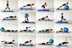 Thuis sporten - iedere dag een andere oefening