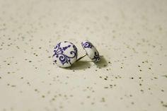 DIY Button DIY Fabric Button Earrings DIY Button