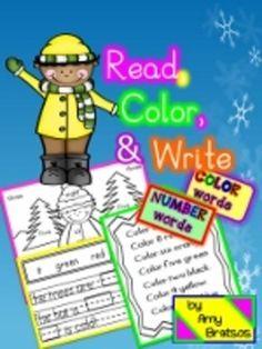 Read, Color,