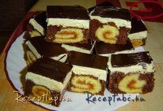 tekercs szelet Tiramisu, Sweets, Cakes, Ethnic Recipes, Kitchen, Food, Pies, Hungary, Cooking