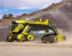 Award winning dump truck of the future (1 of 5).