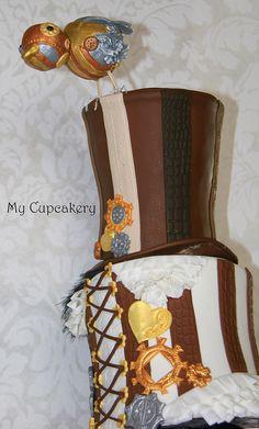Steampunk Cake, via Flickr.