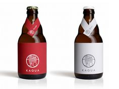30 Great Japanese Food Packaging Designs (or at least inspired by) - Page 3 of 3 - Ateriet Food Packaging Design, Bottle Packaging, Brand Packaging, Packaging Ideas, Japanese Beer, Japanese Food, Craft Bier, Craft Beer Labels, Beer Label Design