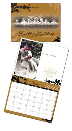 The limited edition, 2013 Knotty Knitters Calendar is available for preorder.  Visit http://knottyknittersforautism.com from NOW until August 1, 2012 to get yours.  Features models aged 17-87 in handknits and nothing else.  There are also patterns from Nicky Epstein, Martin Storey, Jen Hagan, Heatherly Walker,Heiki Gittins, Cornelia Tuttle Hamilton, Maggi Jackson, and Meghan Peters.  $20.00, plus shipping.