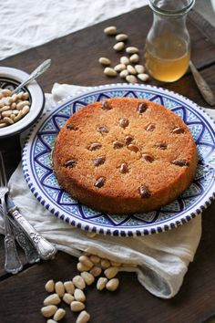 Egyptian Konafa Cake with Ricotta Filling: a classic recipe made with buttered Konafa/Kataifi pastry filled with creamy ricotta, baked till deep golden & doused in vanilla sugar syrup