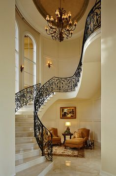 Nothing like a grand staircase! Makes a great runway too!