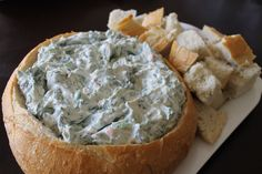 recipes for the of july cookout aunt carol s spinach dip finger food ...