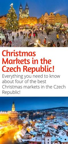 Czech Christmas Magic in Four Ways 2019 - Visit various Czech cities during Advent and enjoy the Christmas atmosphere, Czech traditions, great food and delicious punch. Prague Christmas Market, Christmas Markets Germany, Christmas Markets Europe, Christmas Trips, Christmas Holiday, European Destination, European Travel, Europe Travel Tips, Winter