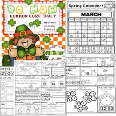 FREEBIE MORNING WORK(MARCH) PICK UP THE COMPLETE SET!