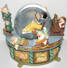 Disney Snow Globes | Your WDW Store - Disney Snow Globe - Snow White - Rocking Chair