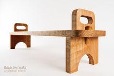 Plank – Mark II – Things we make Woodworking Furniture, Pallet Furniture, Woodworking Plans, Woodworking Projects, Outdoor Furniture, Unique Furniture, Kids Furniture, Furniture Design, Furniture Plans