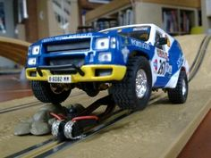 Scalextric TT Nissan Patrol - Scalextric - freeslotter Nissan Patrol, Offroad, Car, Automobile, Off Road, Autos, Cars