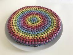 Unicorn Birthday Party Cake Kids Rainbow Children Smarties Chocolate
