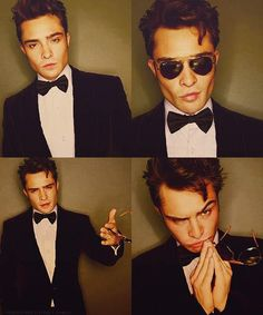 The only man I would consider giving up my husband for. It's okay. He understands my obsession for Ed Westwick.