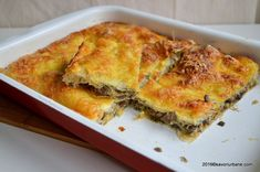 Pastry And Bakery, Bread And Pastries, Puff Pastry Recipes, Cookie Recipes, Good Healthy Recipes, Vegetarian Recipes, Romanian Food, Romanian Recipes, World Recipes