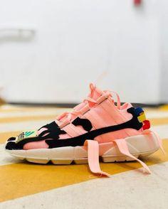Joe Fresh Goods x ad Joe Fresh Goods x adidas Originals Pod Custom Shoes, Custom Clothes, Casual Sneakers, Shoes Sneakers, Futuristic Shoes, Sports Footwear, Shoe Boots, Shoe Bag, Looks Style