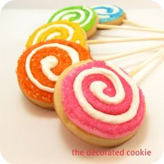 lollies decorated cookies