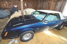 Group  of guys secretly restores 1983 Ford Mustang for cancer-stricken buddy