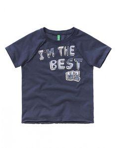 T-shirt com patch - T-SHIRTS E TOPS - TODDLER BOY - CRIANÇA