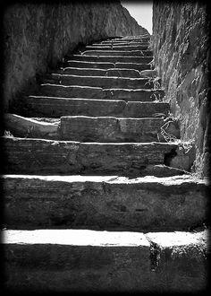 Citadel stairs, St. Tropez (L. McPhee)