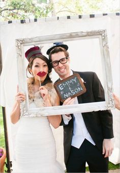 Top 10 Photo Booth Inspiration for your Big Day  | Mine Forever