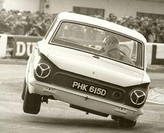 Two wheels on my Cortina