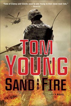 In Sand and Fire, terrorists tangle with Marine Corps Gunnery Sergeant A.E. Blount. To their regret.
