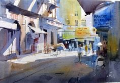 Milind Mulick Watercolour