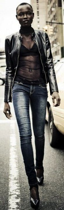 South Sudanese model Grace Bol
