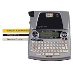 Brother P-Touch - PT-1880SC Deluxe Home & Office Labeler $29.88 Available at Princeton Sam's Club