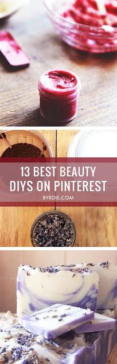 The 13 Best Beauty DIYs on Pinterest #Skinspiration
