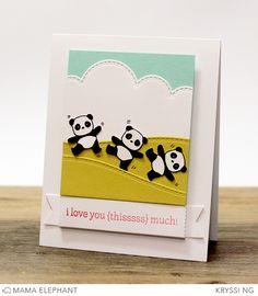 mama elephant | Pandamonium—so cute!